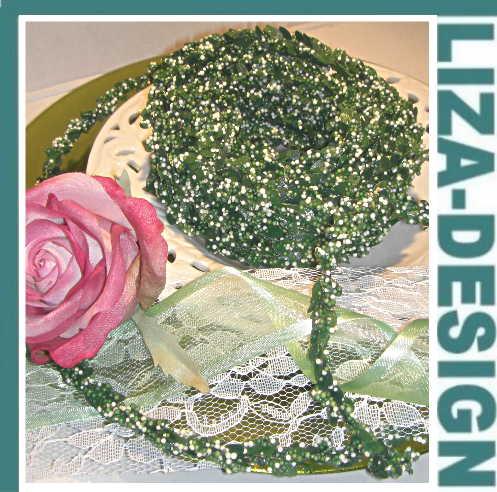 liza design tischband haarschmuck bastelartikel und. Black Bedroom Furniture Sets. Home Design Ideas