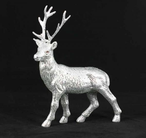 Liza design tischband haarschmuck bastelartikel und for Hirsch silber