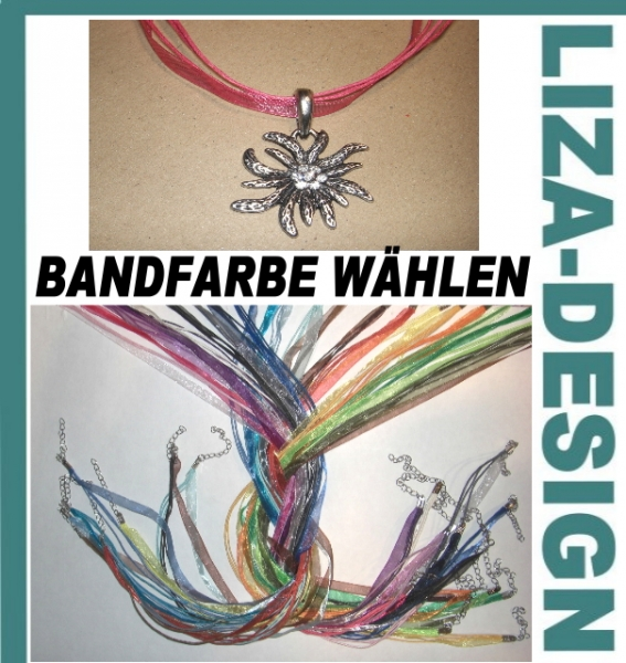 Edelweiss Kette Farbwahl